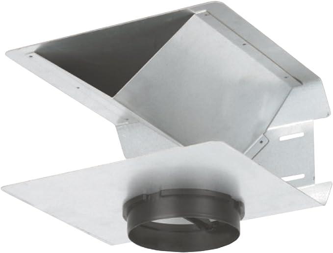 Silverline uadap de 55 recirculación de adaptador de diámetro 150 mm/Campana accesorios: Amazon.es: Grandes electrodomésticos