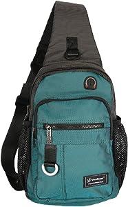 Vanlison Crossbody Sling Bag Backpack for Men & Women Lake Blue