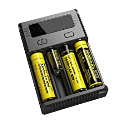 NITECORE i4 (New version) Intellicharge universal smart battery Charger review