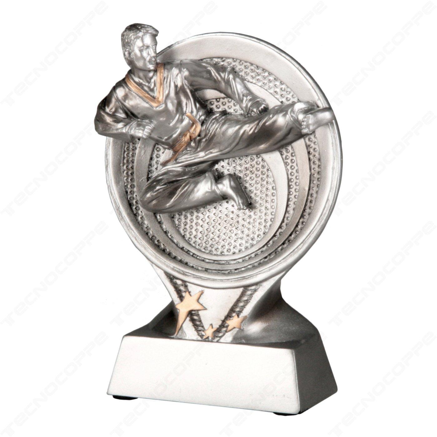 Tecnocoppe - Trofeo para competiciones de Karate - 15,50 cm de ...