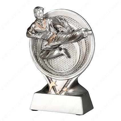 Tecnocoppe - Trofeo para competiciones de Karate - 15,50 cm ...