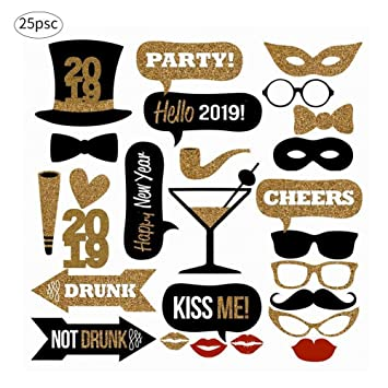 2019 25 Photo Booth Props Cabina de Fotos Accesorios ...