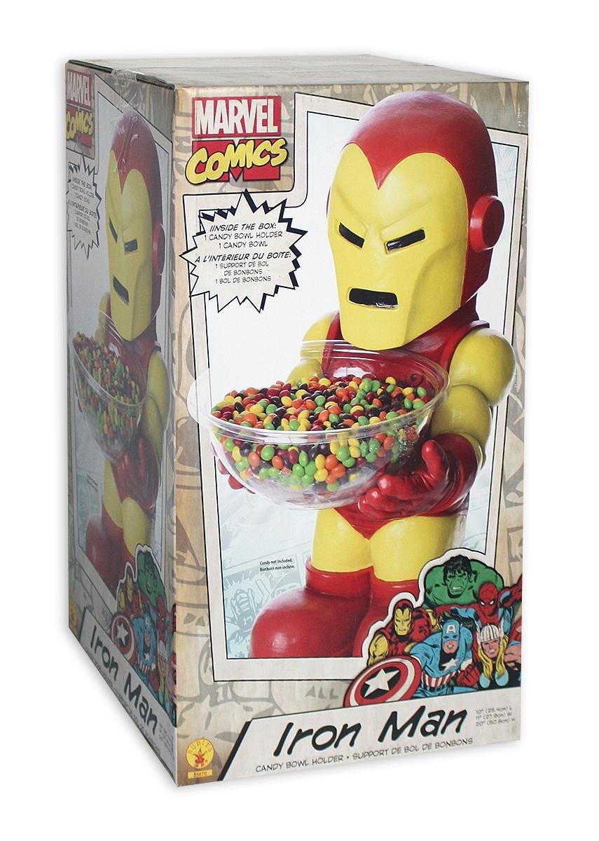 Marvel Iron Man Candy Bowl Holder Holder Holder   Süßigkeitenhalter mit Schale aus Kunststoff (H  50cm) e8beb8
