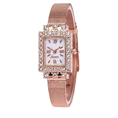 Barlingrock Relojes, Relojes Mujer, Reloj de Pulsera de Cuarzo con ...