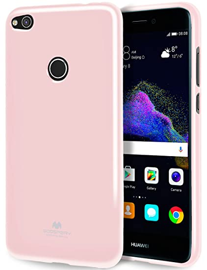 release date: 5571e 5e27e GOOSPERY Marlang Marlang Huawei P8 Lite 2017 case - Baby Pink, Free Screen  Protector [Slim Fit] TPU Case [Flexible] Pearl Jelly [Protection] Bumper ...