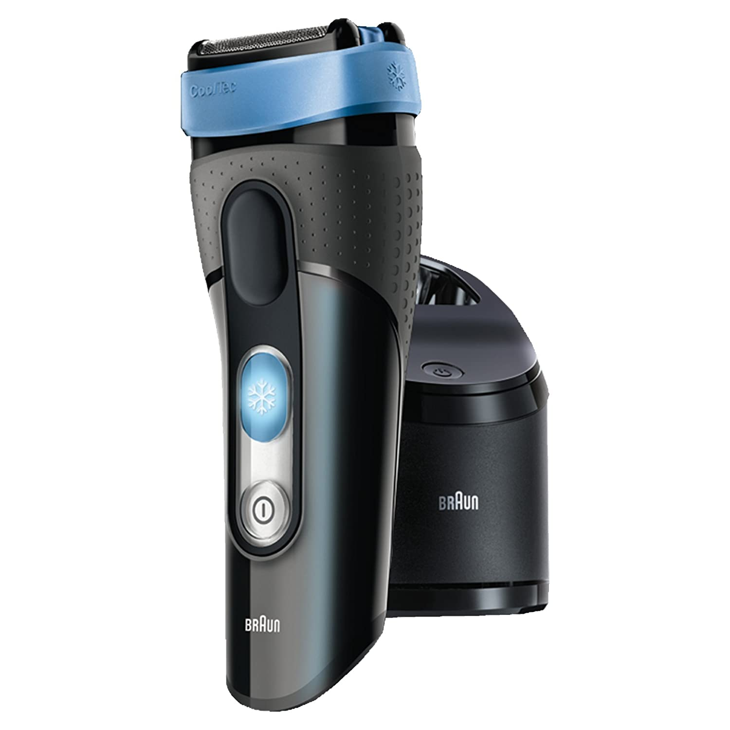 Braun CoolTec CT2cc Wet and Dry Electric Foil Shaver with Clean and Charge Station 8405334