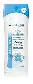 Westlab's Shower Wash (Dead Sea Salt Minerals, 6-Pack)