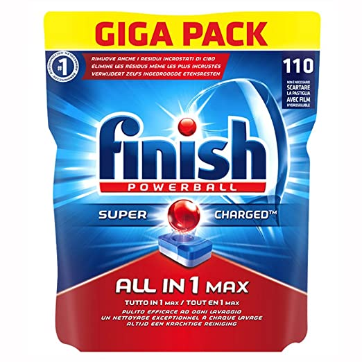 8 opinioni per Finish All in One Max 110 Pastiglie