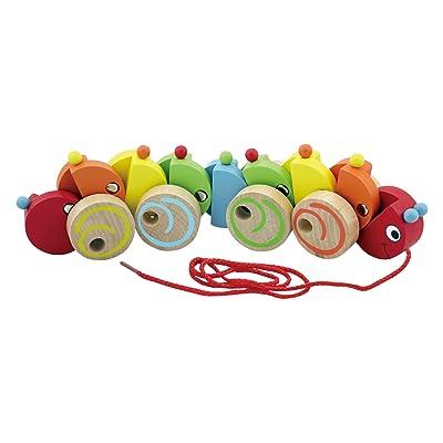Viga Pull-Along Caterpillar (599508): Toys & Games