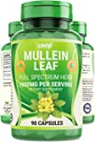 Wixar Naturals Mullein Leaf Capsules - 90 Capsules - Herbal Supplement Supports Healthy Respiratory Function & Mucous…