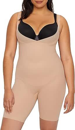 Miraclesuit Shapewear Womens Plus Size Extra Firm Control Torsette Singlette w/Adjustable Straps