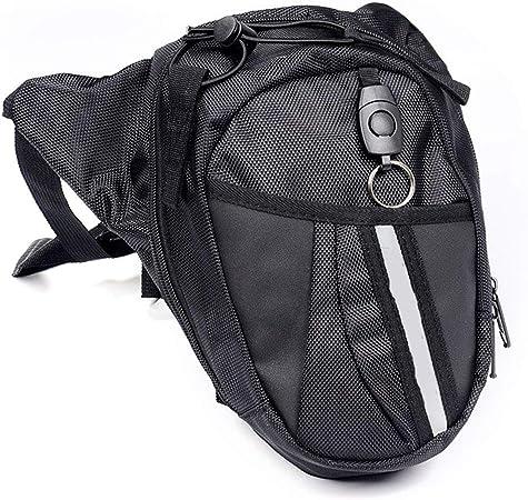 Fansport Bolso para Piernas, Fanny Waist Pack Carreras de Motos Cintura Bolso de Cintura para IR de Excursión: Amazon.es: Deportes y aire libre
