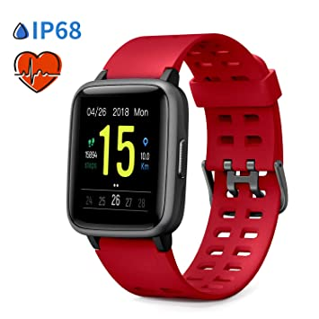 Glymnis Reloj Inteligente Smartwatch IP68 14 Modos de Deporte ...