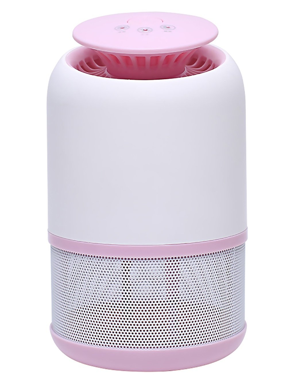 Haushalt keine Strahlung schwangere Frauen Säuglinge Silent-LED Photokatalysator Anti-Moskito-Lampe (blau, Rosa, Schwarz, optional) ( farbe : Pink )
