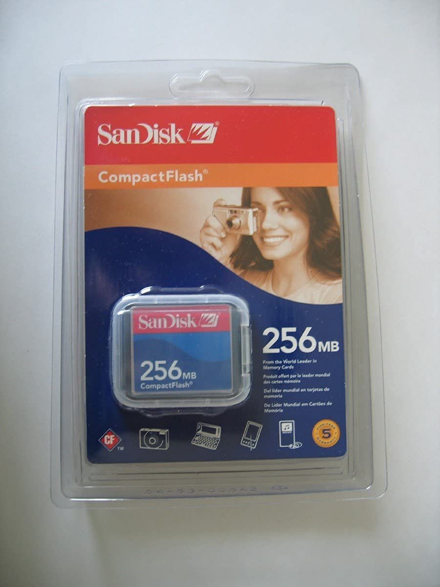 256mb SANDISK COMPACT FLASH CF Memory Card