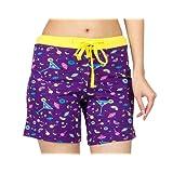 Nuteez Purple Women's Shorts