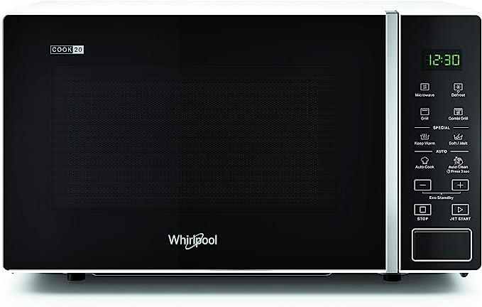Whirlpool MWP 203 W - Horno microondas 20 litros blanco con grill ...