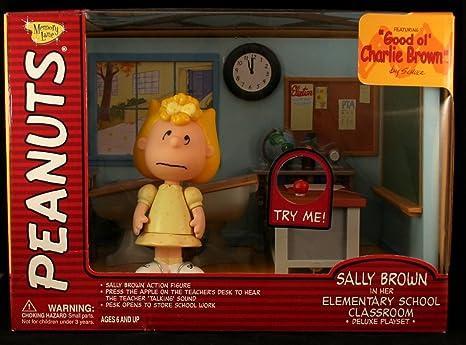 Amazoncom Peanuts Sally Brown In Her Elementary School Classroom