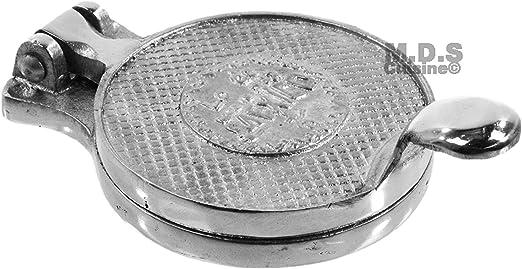 """Mexican Gorditas,Gordita,Hamburger Press Maker Aluminum Mexican Food 4.5/"""""""