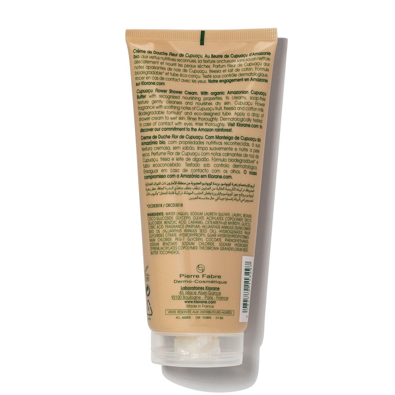 Amazon Com Klorane Cupuacu Flower Shower Cream With Organic Cupuacu