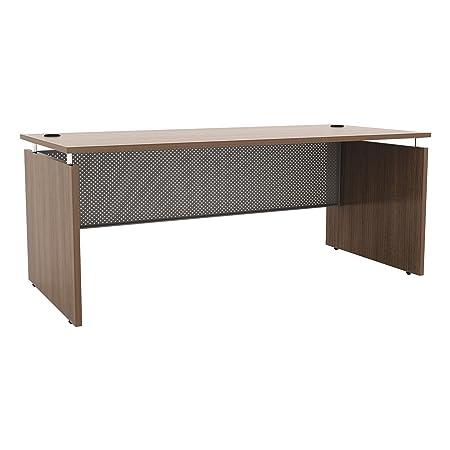 Alera ALESE216630WA Sedina Series Straight Front Desk Shell, 66w x 30d x 29.5h, Modern Walnut