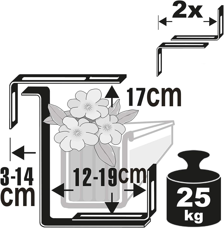 Windhager 05806 Accessorio per Vaso Kit di Sospensione per Vaso