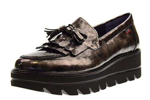 CALLAGHAN Mocasines cuña Zapatos Mujer 14812 Pewter-Nero: Amazon.es: Zapatos y complementos