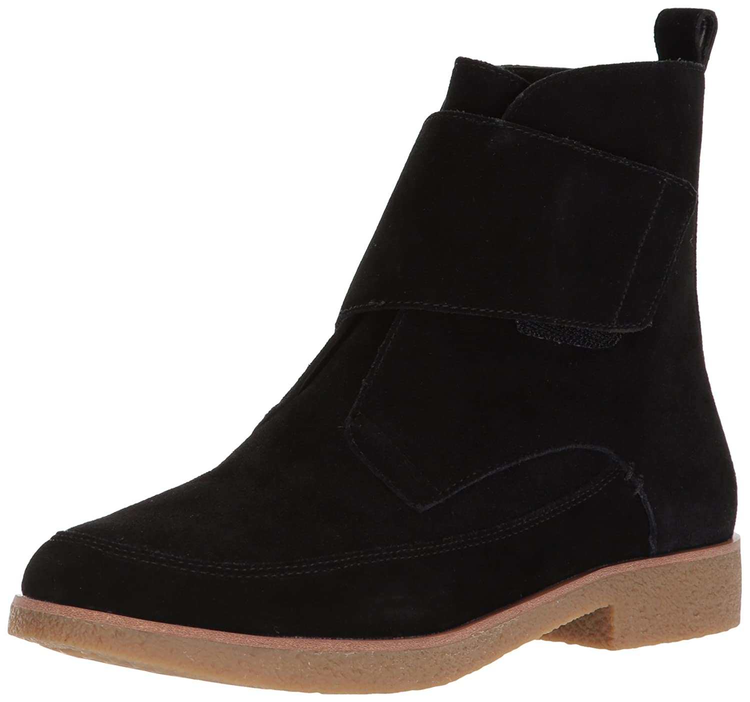 Aerosoles Women's Full Moon Ankle Boot B0756HBXXZ 6 B(M) US|Black Suede