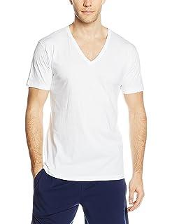 b17ac442d466 3 t shirt corpo uomo LIABEL mezza manica scollo a V 100% cotone art.