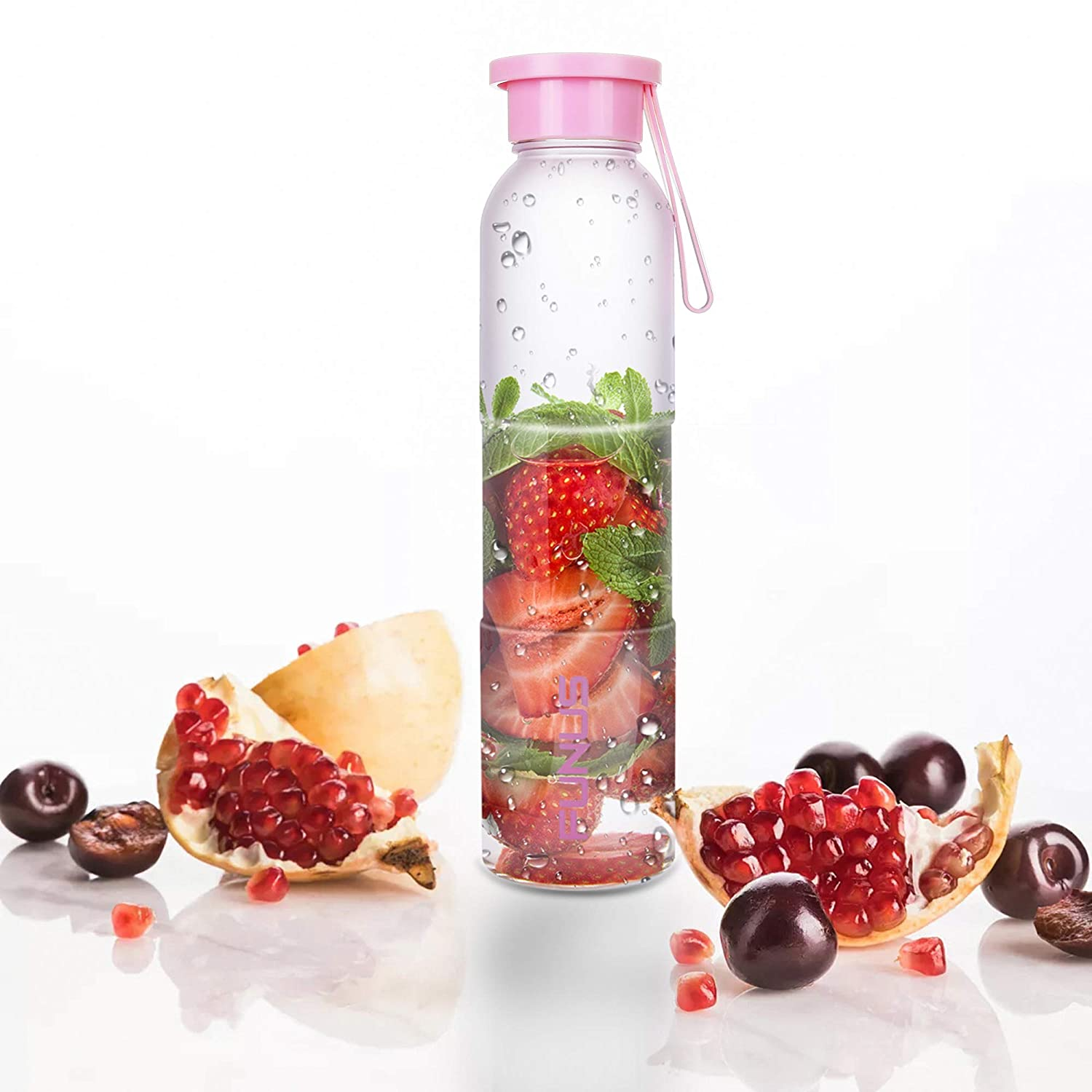 16oz Water Bottle with Cap Jus...