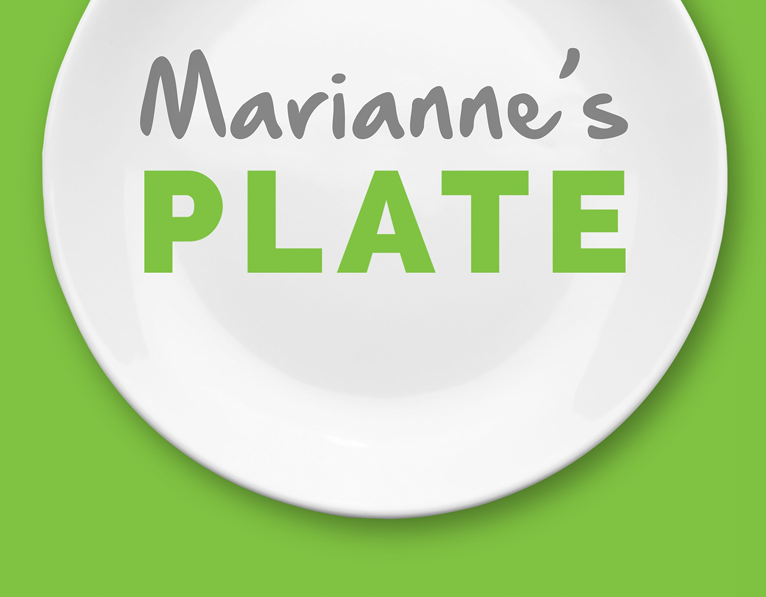 Marianne's Plate (Melamine Portion Plate) Plus Information Pamphlet by Marianne's PLATE (Image #5)
