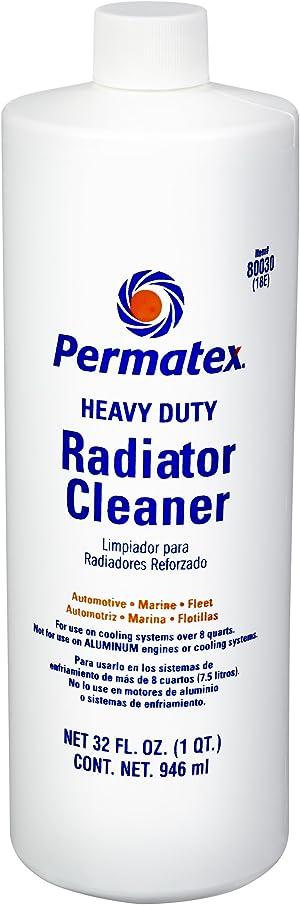 Permatex 80030 Heavy Duty Radiator Cleaner, 1 quart
