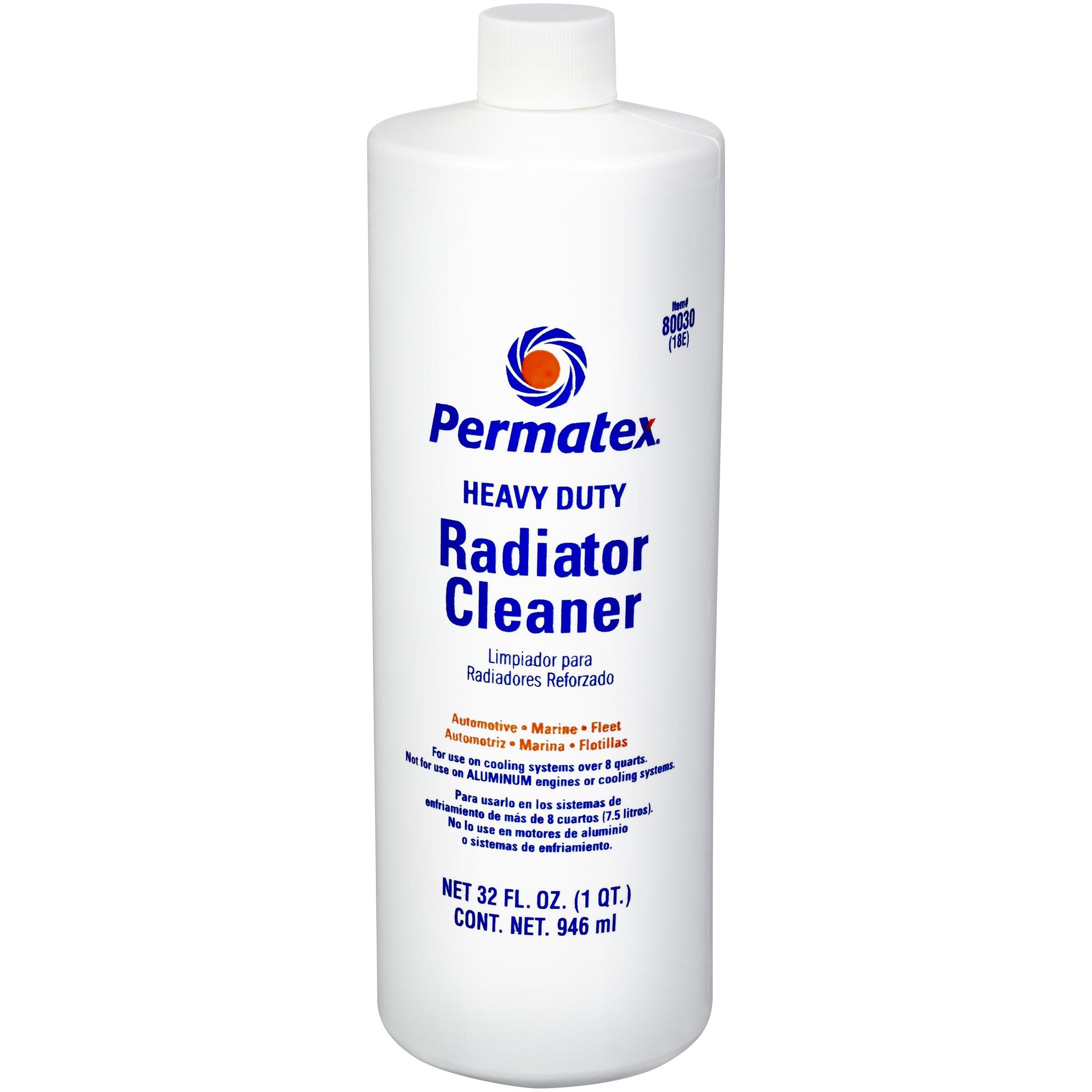 Permatex 80030 Heavy Duty Radiator Cleaner, 1 quart by Permatex