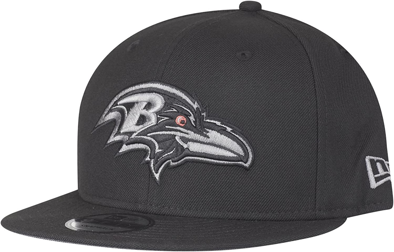 New Era 9Fifty Snapback Cap Baltimore Ravens schwarz grau