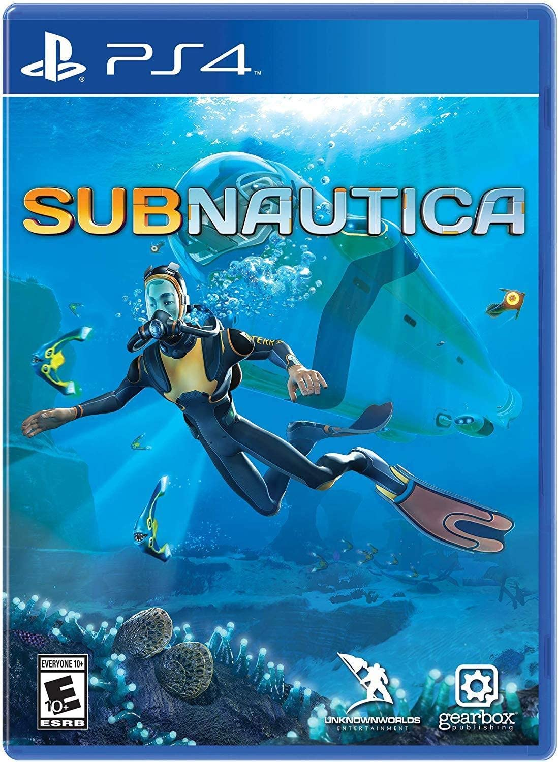 Amazon com: Subnautica - PlayStation 4: Gearbox Publishing