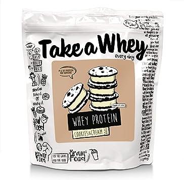 Take-A-Whey Batido de Proteína de Suero, Galletas & Crema 900 ...