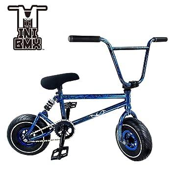 Minibicicleta BMX de estilo libre, neumáticos ligeros y anchos, con 3 accesorios