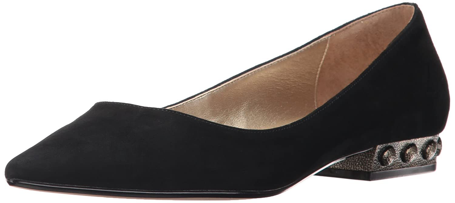 Nina Original Women's Zenith Pointed Toe Flat B01N7Y223G 6 B(M) US|A- Black