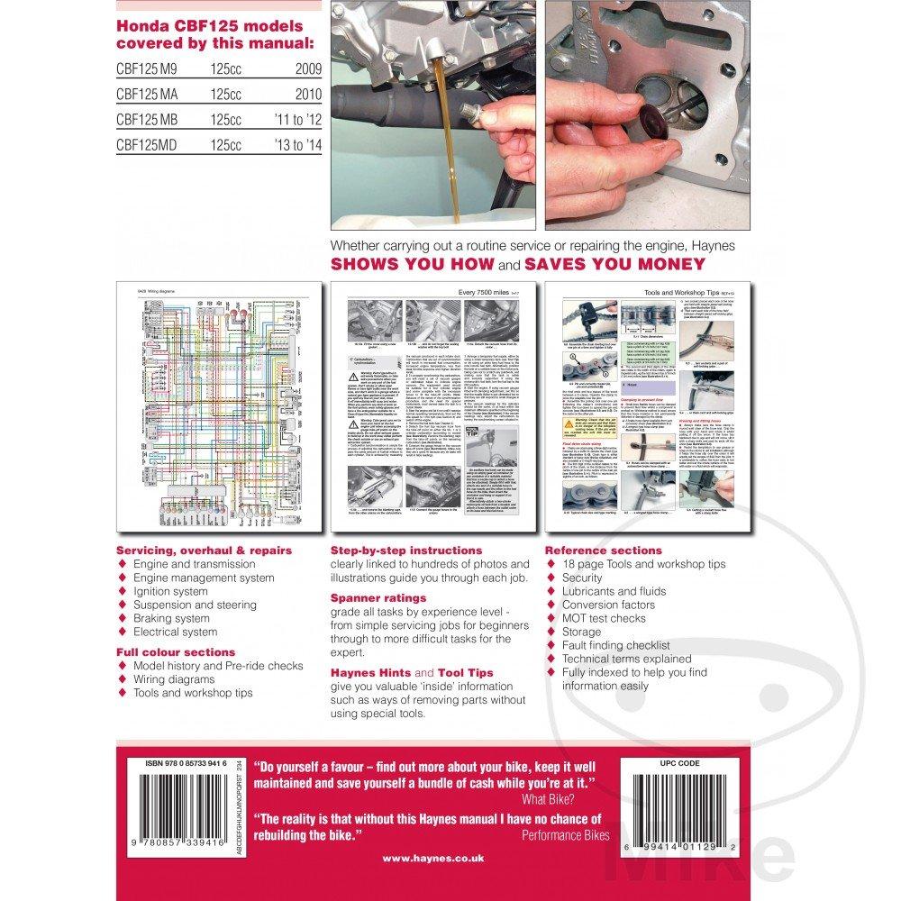 Motorcycle Haynes Service Repair Manual 5540 Car Simplified Wiring Diagram For Dummies Motorbike