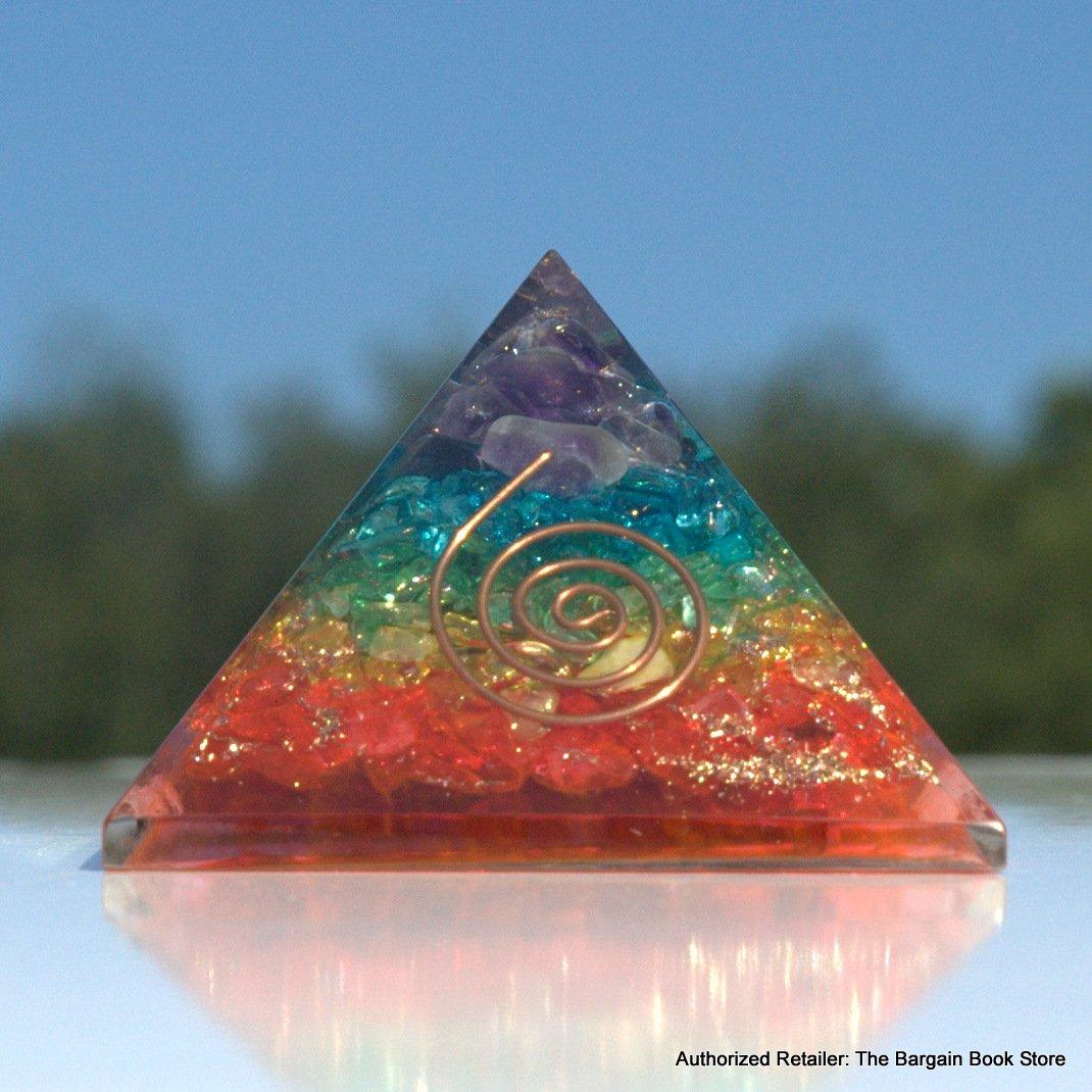 Chakra Crystal Orgone Energy Reiki Infused Pyramid