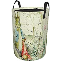Komibdo Peter Rabbit 2 Dirty Clothes Bag With Round Beam Mouth, Foldable Laundry Basket, Trash Bin Storage Box For Toy…