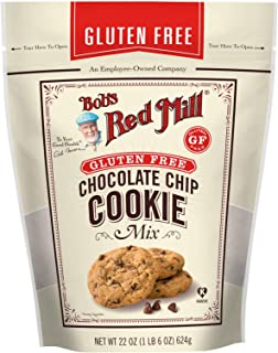 product image for Bob's Red Mill Cookie Mix, Gluten Free Chocolate Chip, 22 oz