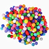 700 Pieces 1 Inch Assorted Pompoms Multicolor Arts and Crafts Pom Poms Balls for Hobby Supplies and Creative Craft DIY…