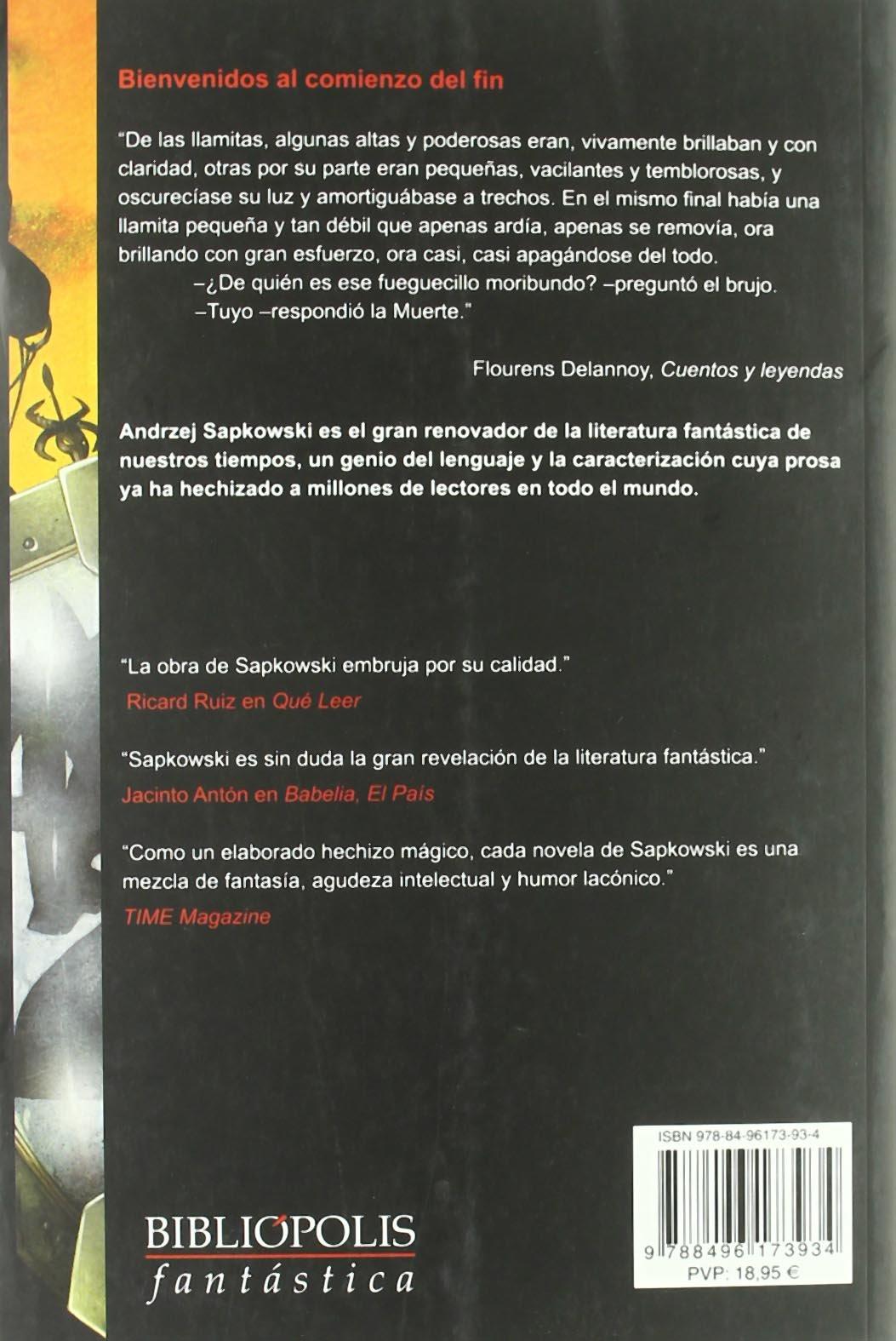 Dama Del Lago,La Vii Geralt Rivia Bibliópolis Fantástica: Amazon ...