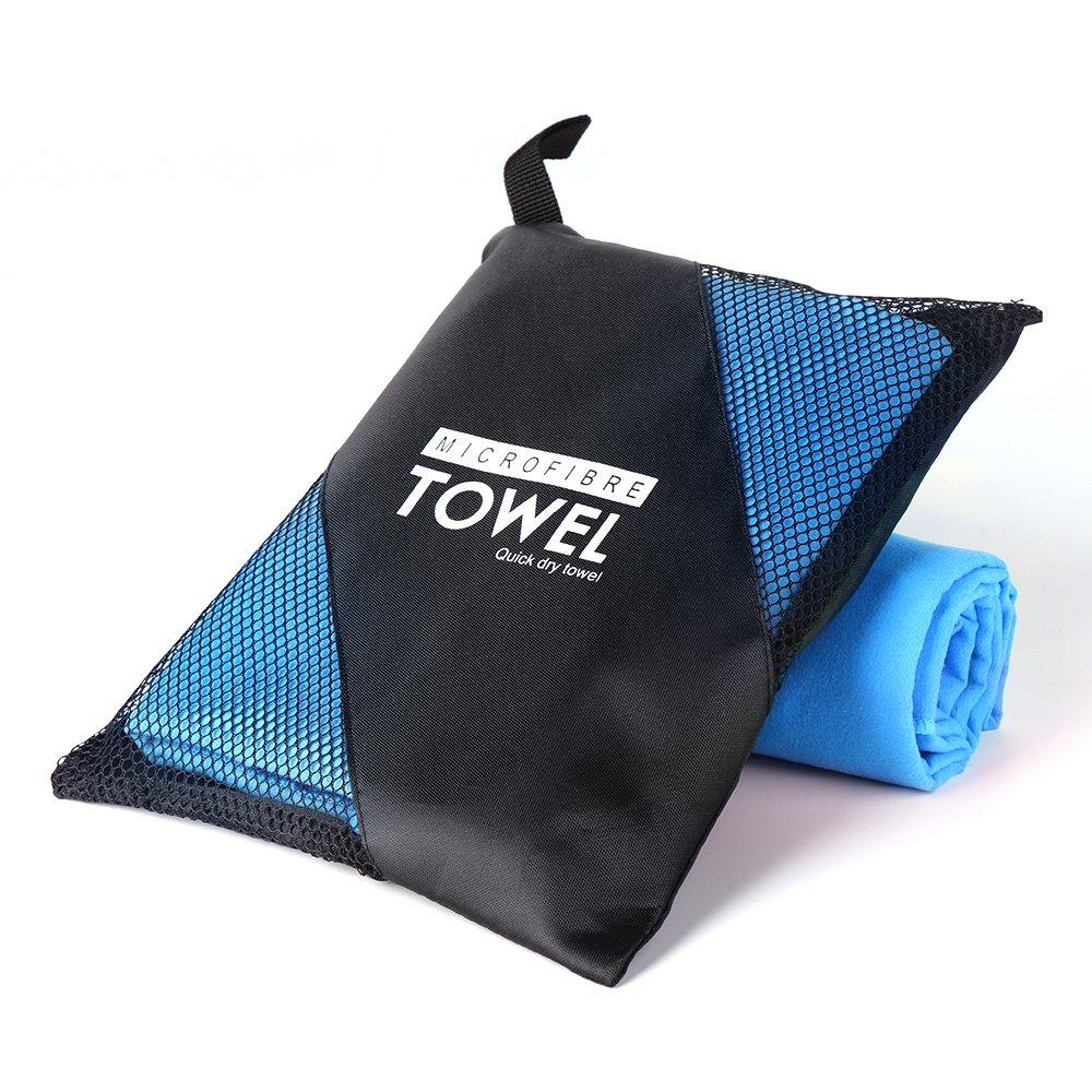 Fazitrip Mikrofaser Handt/ücher 2er Yoga Handtuch Sporthandtuch Saugf/ähig Badetuch Schnelltrocknend Strandhandtuch
