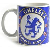 Chelsea FC Halftone 0.3kg Boxed Mug