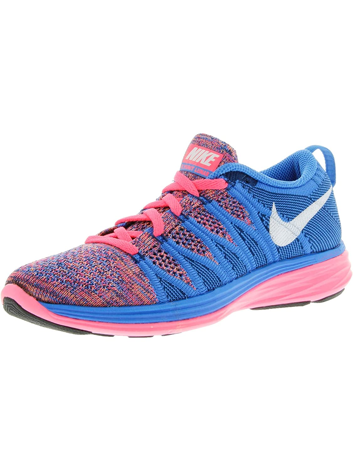 various colors 5d6bf 856a0 Amazon.com   Nike Women s Flyknit Lunar2 Running Training Shoes   Road  Running