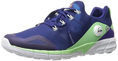 reebok zpump. Reebok Women\u0027s Zpump Fusion 2.0 Running Shoe, Night Beacon/Electric Blue/Seafoam Green