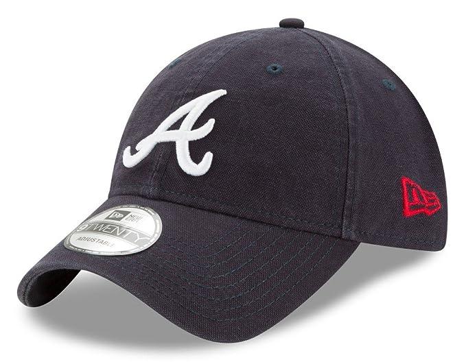 ef66e1935ae Amazon.com   New Era Atlanta Braves MLB 9Twenty Primary Core Classic ...