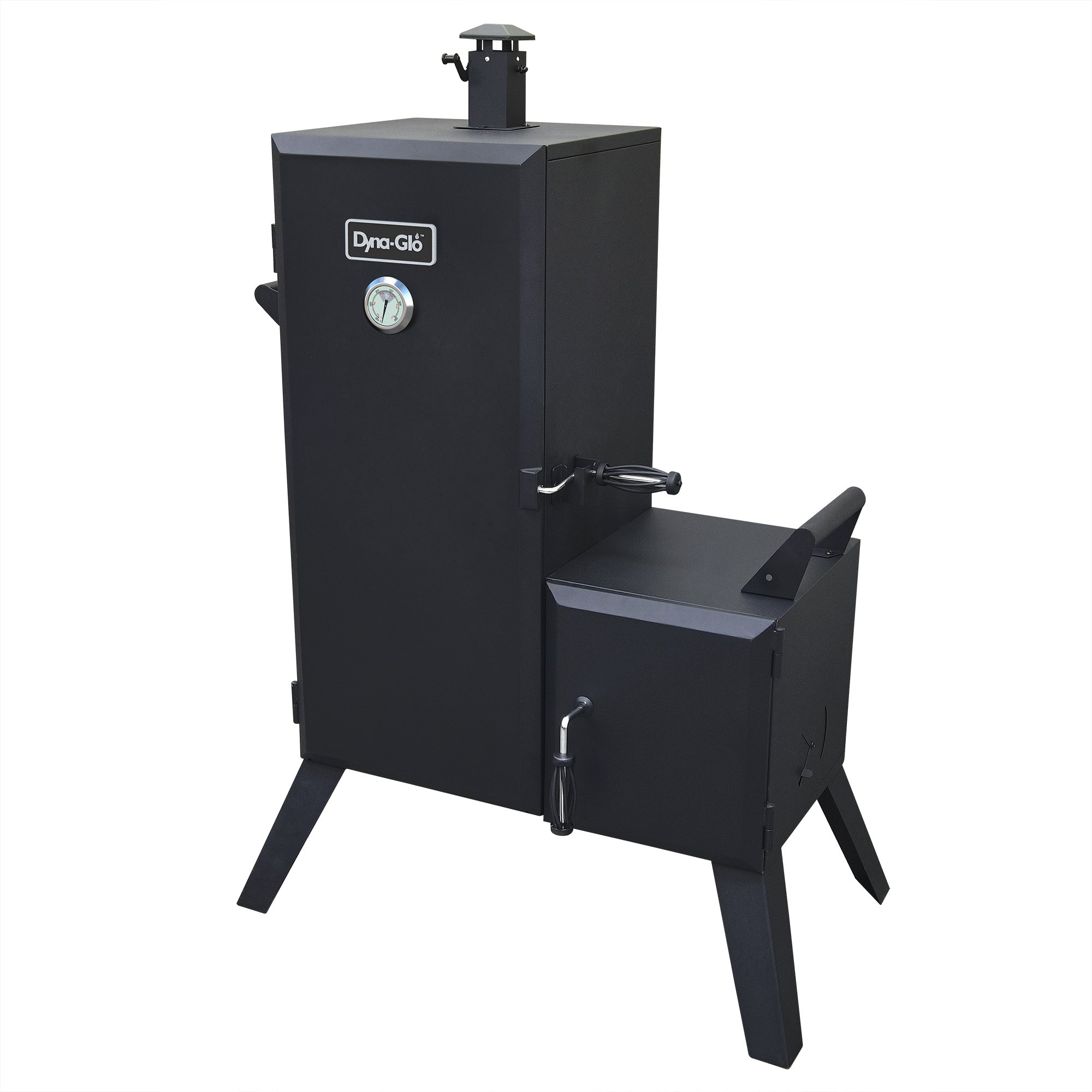 Dyna-Glo DGO1176BDC-D Charcoal Offset Smoker by Dyna-Glo